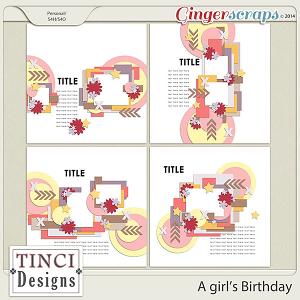 A girl's Birthday