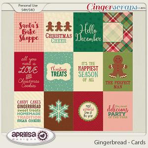 Gingerbread - Cards by Aprilisa Designs