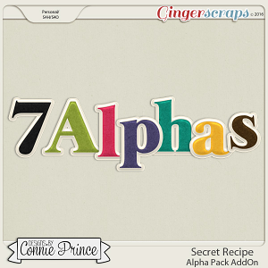 Secret Recipe  - Alpha Pack AddOn