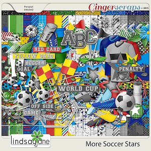 More Soccer Stars by Lindsay Jane
