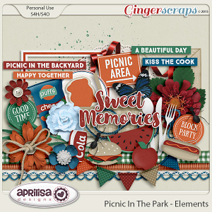 Picnic In The Park - Elements by Aprilisa Designs
