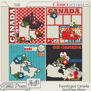 Travelogue Canada - QuickPage Album