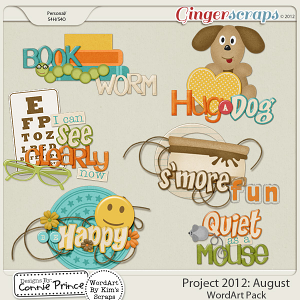 Retiring Soon - Project 2012:  August - WordArt