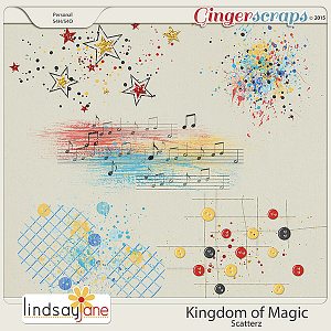 Kingdom of Magic Scatterz by Lindsay Jane