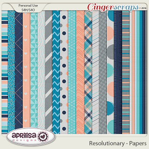 Resolutionary - Papers by Aprilisa Designs