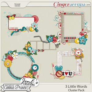 3 Little Words - Cluster Pack
