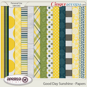 Good Day Sunshine - Papers by Aprilisa Designs