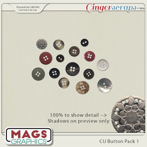 CU PNG Buttons Pack 1 by MagsGraphics