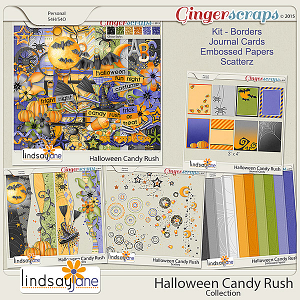 Halloween Candy Rush Collection by Lindsay Jane