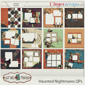 Haunted Nightmares Quick Pages