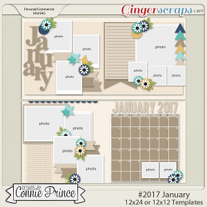 #2017 January - 12x12 Template Pack (CU Ok)