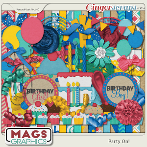 Party On KIT by MagsGraphics