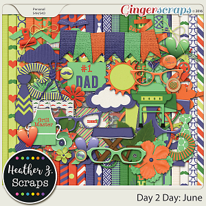 Day 2 Day: June KIT by Heather Z Scraps