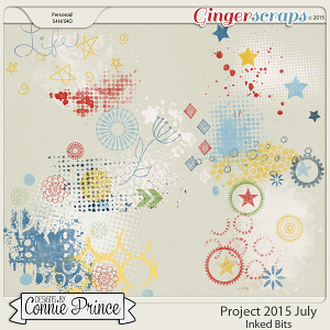 Project 2015 July - Inked Bits
