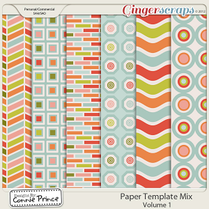 Retiring Soon - Paper Template Mix - Vol 1 (CU Ok)