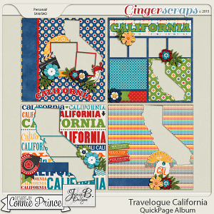 Travelogue California - QuickPage Album