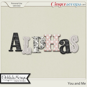 You and Me Alphabets