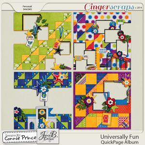 Universally Fun - QuickPage Album