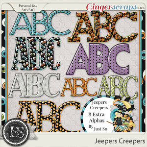 Jeepers Creepers Alphabets