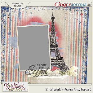 Small World ~ France Artsy Starter 2