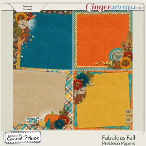 Fabulous Fall - PreDeco Papers