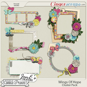 Wings Of Hope - Cluster Pack