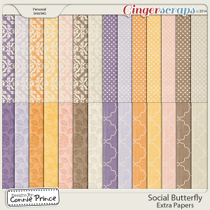 Social Butterfly - Extra Papers