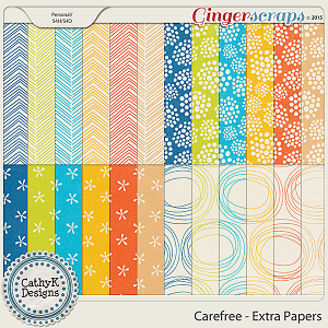 Carefree - Extra Papers