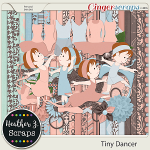 Tiny Dancer KIT by Heather Z Scraps