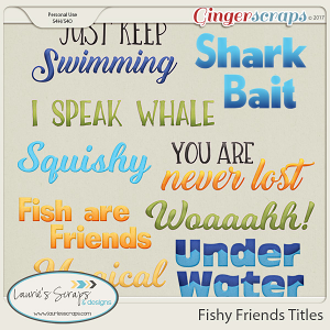 Fishy Friends Titles