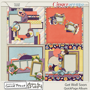 Get Well Soon - QuickPage Album