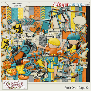 Rock On Page Kit