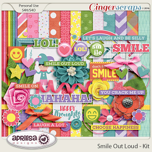 Smile Out Loud - Kit by Aprilisa Designs
