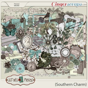 Southern Charm Elements by Scraps N Pieces