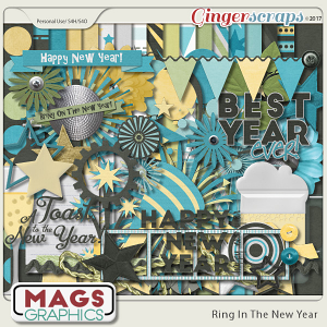 Ring In The New Year KIT by MagsGraphics