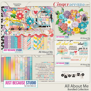 All About Me Bundled Collection by JB Studio