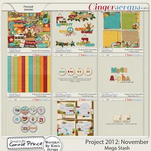 Retiring Soon - Project 2012: November - Mega Stash