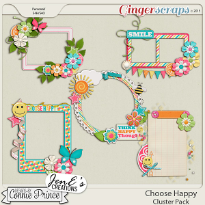 Choose Happy - Cluster Pack