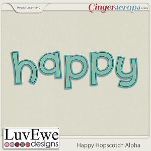 Happy Hopscotch Alpha
