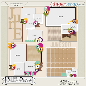 #2017 June - 12x12 Template Pack (CU Ok)