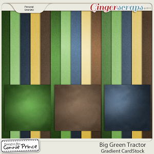 Retiring Soon - Big Green Tractor - Gradient Papers