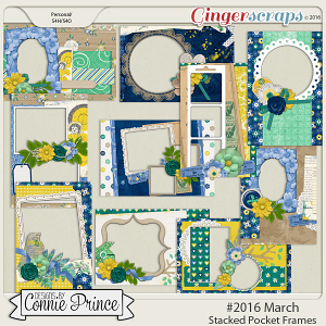 #2016 March - Stacked Pocket Frames