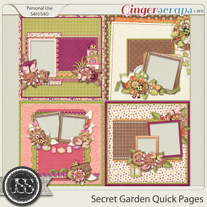 Secret Garden Quick Pages