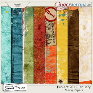 Project 2015 January - Messy Paper Pack