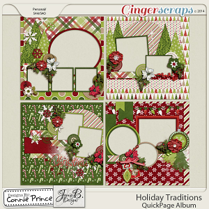 Holiday Traditions - QuickPage Album