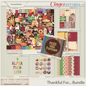 Thankful For... Bundle PLUS FREE With Purchase
