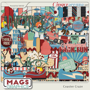 Coaster Craze KIT by MagsGraphics