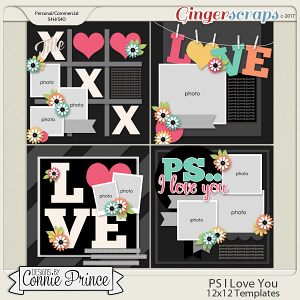 PS..I Love You - 12x12 Temps (CU Ok)