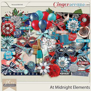 At Midnight Elements by JoCee Designs