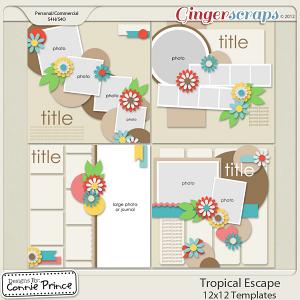Retiring Soon - Tropical Escape - 12x12 Temps (CU Ok)